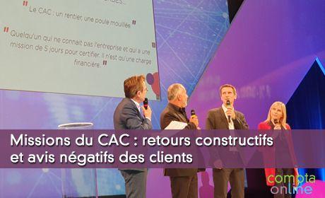 Missions du CAC : retours constructifs et avis négatifs des clients