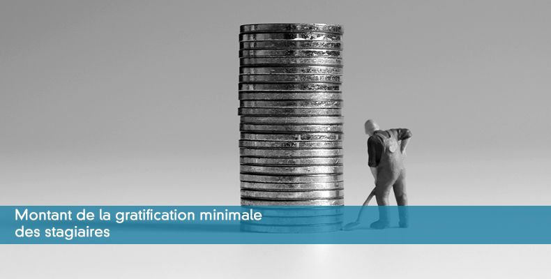 Montant de la gratification minimale des stagiaires