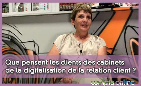 Que pensent les clients des cabinets de la digitalisation de la relation client ?