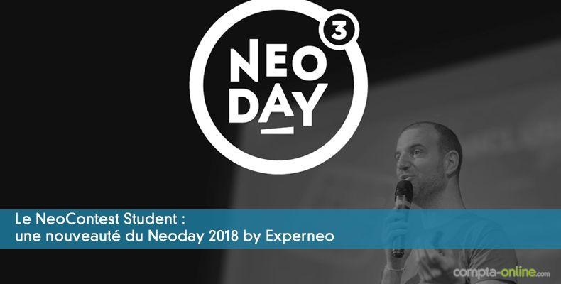 Le NeoContest Student : une nouveauté  du Neoday 2018 by Experneo