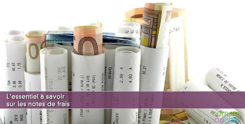 Comptabiliser des notes de frais