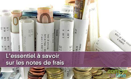 L'essentiel à savoir sur les notes de frais