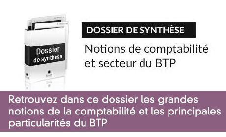 Notions de comptabilité et secteur du BTP