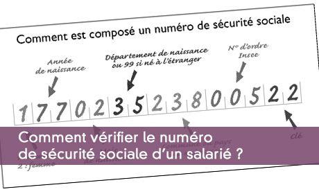 Embauche D Un Salarie Verifier Son Numero De Securite Sociale