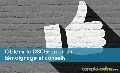 Réussir le DSCG en un an, sans le DCG et après un master !