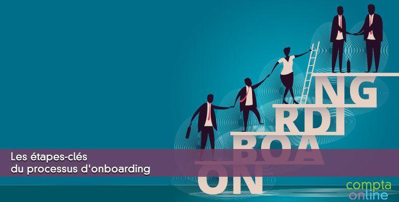 Les étapes-clés du processus d'onboarding