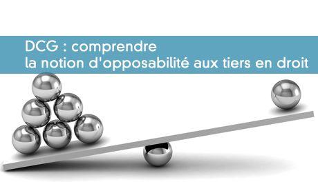 Opposabilité et inopposabilité aux tiers