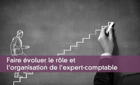Faire évoluer le rôle et l'organisation de l'expert-comptable