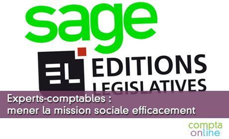 Experts-comptables : mener la mission sociale efficacement