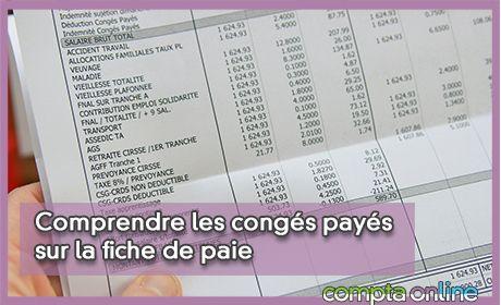 Comprendre les congés payés sur la fiche de paie