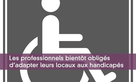 Locaux professionnels non accessible aux handicapés : pouvoirs du préfet