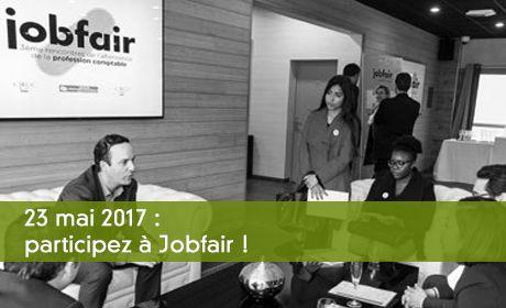 23 mai 2017 : participez à Jobfair !