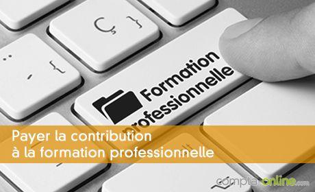 Payer la contribution à la formation professionnelle