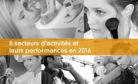 8 secteurs d'activités et leurs performances en 2016