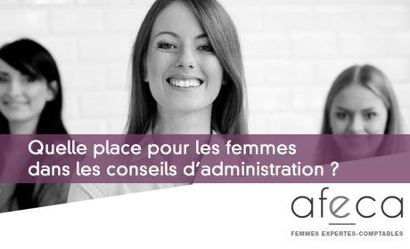Quelle place pour les femmes dans les conseils d'administration ?
