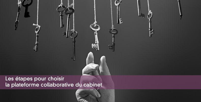 Les étapes pour choisir la plateforme collaborative du cabinet