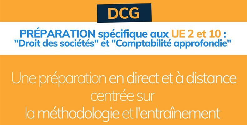 DCG : valider en un an l'UE2 et l'UE10