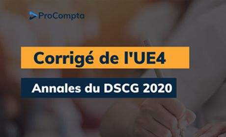 Corrigé DSCG 2020 UE4