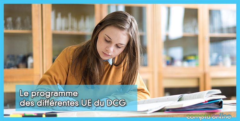 Programme du DCG