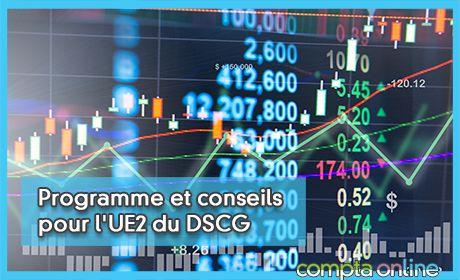 Programme et conseils pour l'UE2 du DSCG