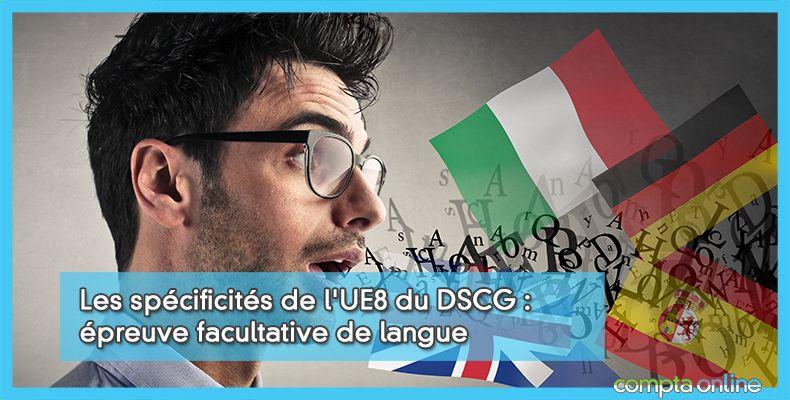 DSCG UE8 Épreuve facultative de langue