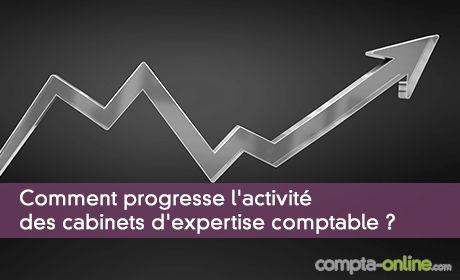 Comment progresse l'activité des cabinets d'expertise comptable ?