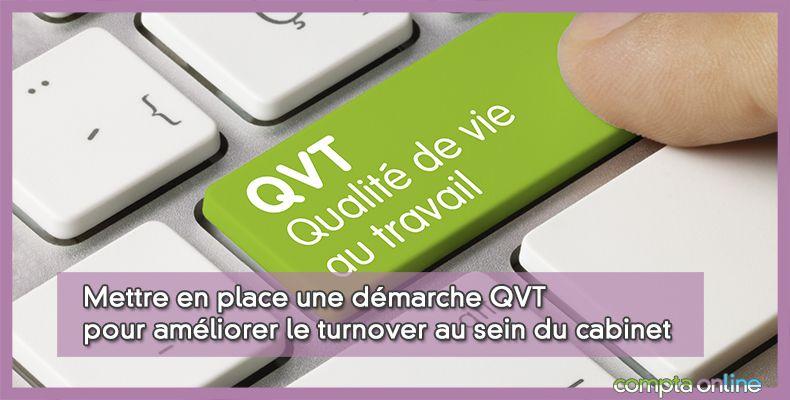 Les 4 étapes de la démarche QVT dans les cabinets
