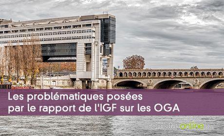Les problématiques posées par le rapport de l'IGF sur les OGA