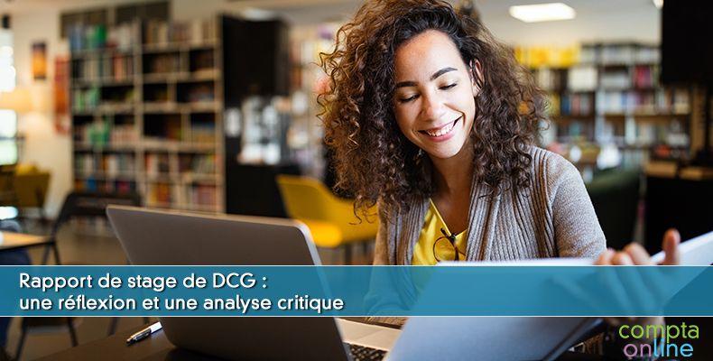 Rapport de stage DCG