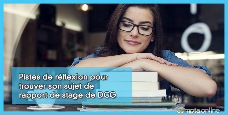 Rapport de stage de DCG
