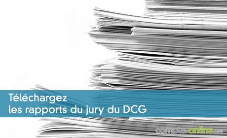 Rapports du président du jury du DCG