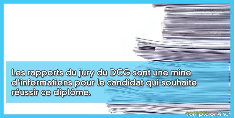 Rapport jury DCG