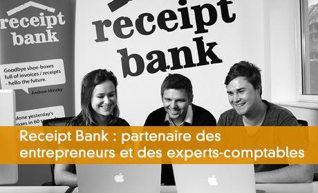 Receipt Bank part a l'assaut de la France