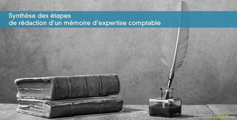 Synthèse des étapes de rédaction d'un mémoire