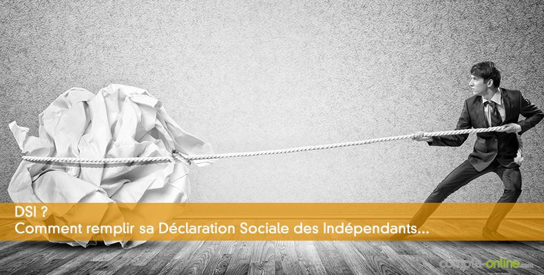 Completer Sa Declaration Sociale Des Independants Dsi