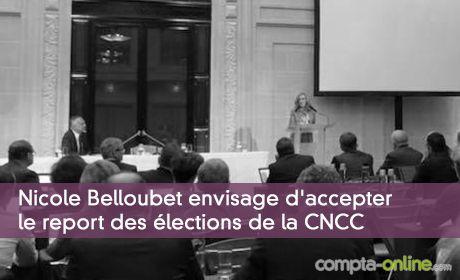 Nicole Belloubet envisage d'accepter le report des élections de la CNCC