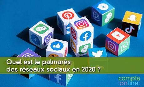 Quel est le palmarès des réseaux sociaux en 2020 ?