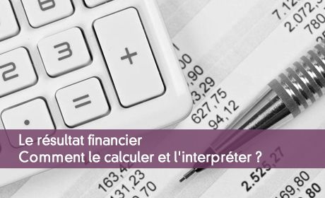Le résultat financier