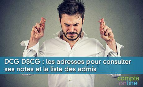 Les résultats du DCG et du DSCG : les sites des académies