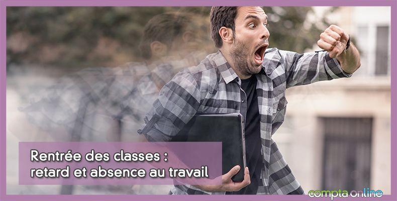Rentrée des classes : retard et absence au travail