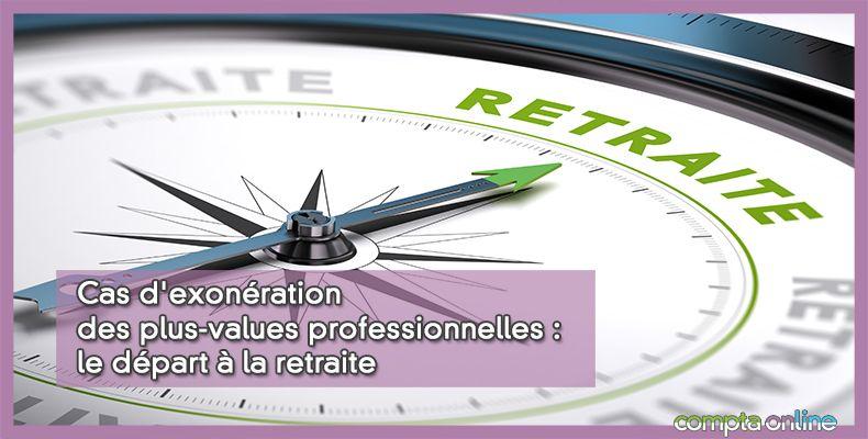 Exonération des plus-values
