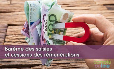 Barème des saisies sur salaire ou saisie sur rémunération