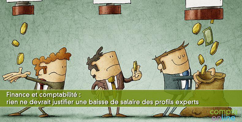 Salaires finance comptabilité
