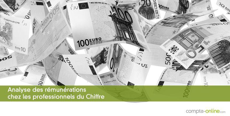 Analyse des rémunérations chez les professionnels du Chiffre