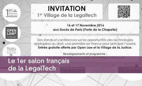 Le 1er salon français de la LegalTech