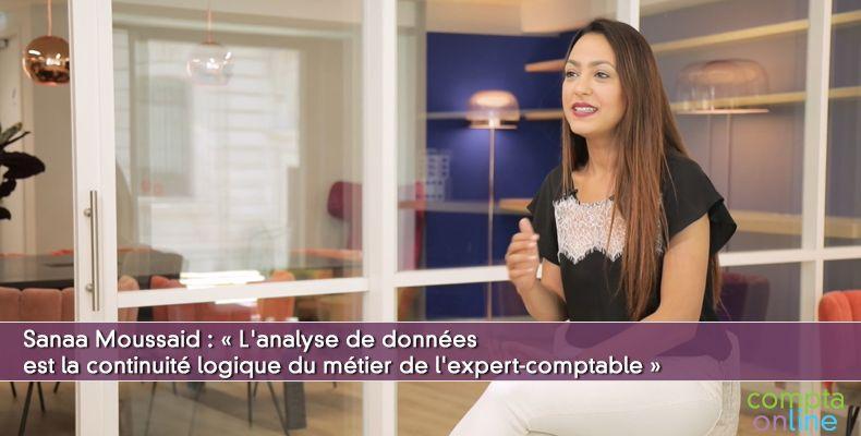 « L'analyse de données est la continuité logique du métier de l'expert-comptable »