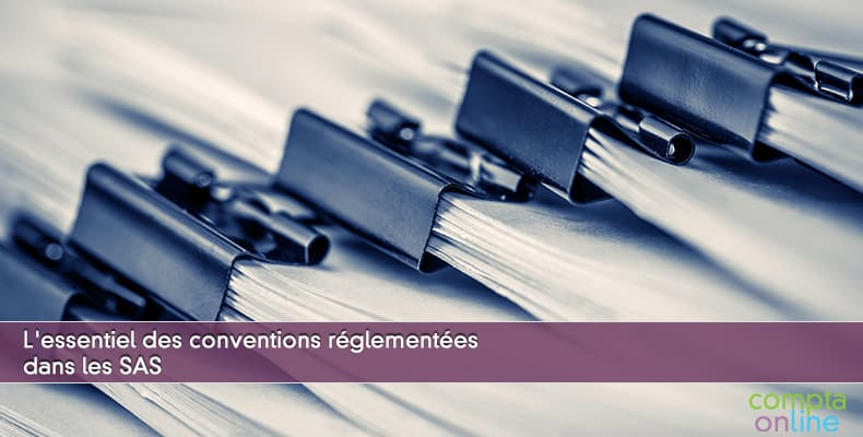 Conventions réglementées SAS