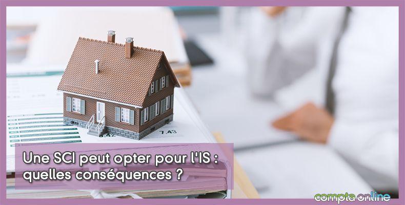 SCI option à l'IS