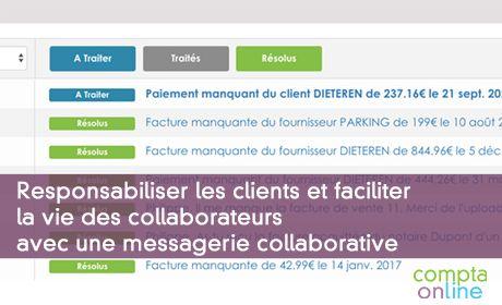 Responsabiliser les clients et faciliter la vie des collaborateurs avec une messagerie collaborative