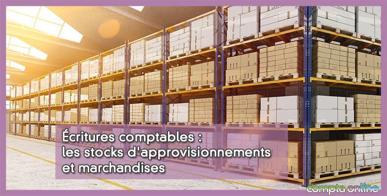 Comptabilisation stock